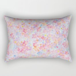 Artemis 9 Berry Blossom Watercolo Flowers Rectangular Pillow