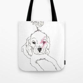 Puppy + Birdy Tote Bag