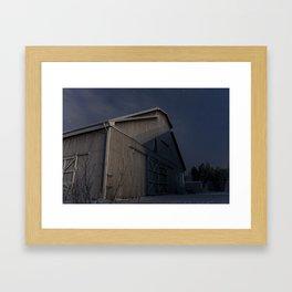 WW2 Storage Framed Art Print
