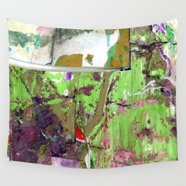 Green Earth Boundary Wall Tapestry