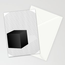 The Cube I Stationery Cards