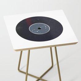 Vinyl Record Star Sign Art | Scorpio Side Table