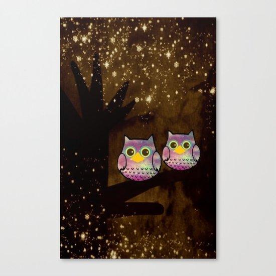 owl-146 Canvas Print