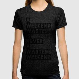A Weekend Water (Black) T-shirt
