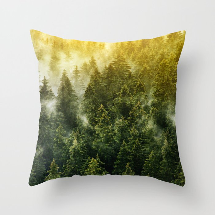 Don't Wake Me Up Throw Pillow