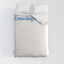 Top Crossing Guard Comforters