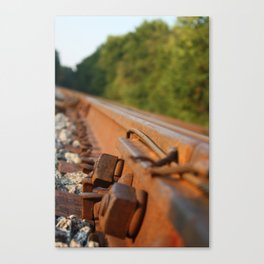 Rusted Path Canvas Print