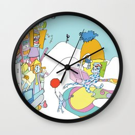 Everything but...the kitchen sink Wall Clock