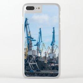 Harbor of Riga Clear iPhone Case