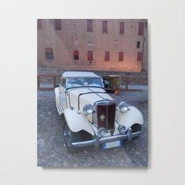 MG CARS Metal Print