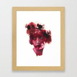 Blood Lady #2 Framed Art Print