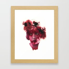Blood Lady #2 Framed Art Print