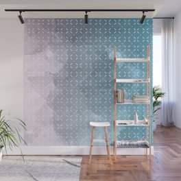 Geometric Aquarelle Wall Mural