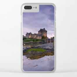 The Guardian of the Lake II Clear iPhone Case