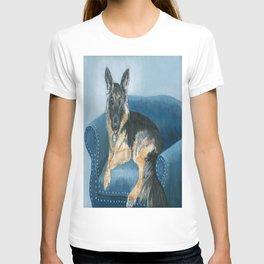 German Shepherd Angus T-shirt