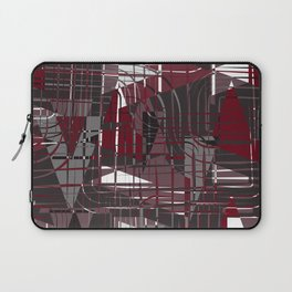 Land of Red Laptop Sleeve