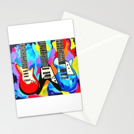 Fancy Guitars Stationery Cards
