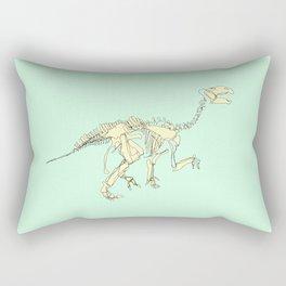 Pastel Iguanodon Rectangular Pillow