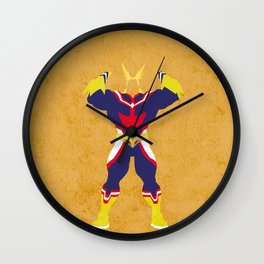 All Might Wall Clock