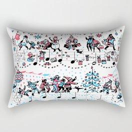 Jingle Bells Rectangular Pillow