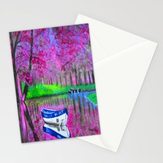 Pink paradise Stationery Cards
