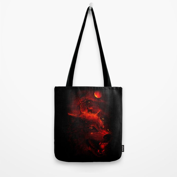 Red Dream Tote Bag