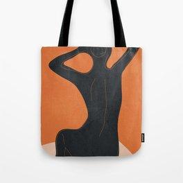 Abstract Nude I Tote Bag