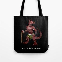 K is for Kobold Tote Bag