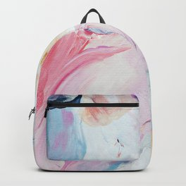 Returning II Abstract Painting  Backpack