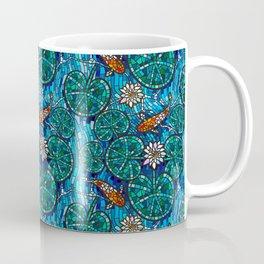 Koi fish mosaic Coffee Mug