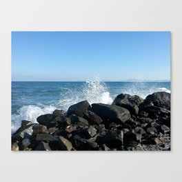 Sea wave Canvas Print