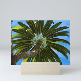 Under the Palm Tree Mini Art Print