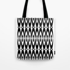 Black pattern Tote Bag