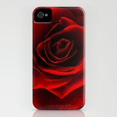 rose d'amour Slim Case iPhone (4, 4s)