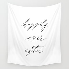Happily Ever After Wall Tapestry