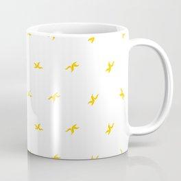 Banana Peel Pattern Coffee Mug
