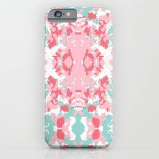 Arabella - abstract minimal pattern print art home decor trendy girly boho dorm college painting iPhone 6s Slim Case