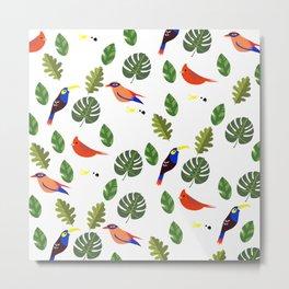 Springtime - First Birds of Spring Metal Print