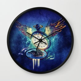 Hour Island Wall Clock