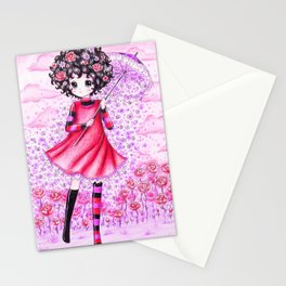 Growing Flowers Stationery Cards