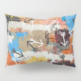 Arrows Pointed At You Pillow Sham