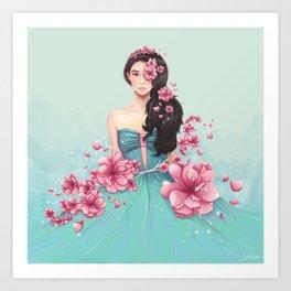 Arden Cho - Sakuras Art Print