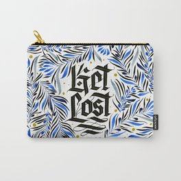 Get Lost Blue Carry-All Pouch