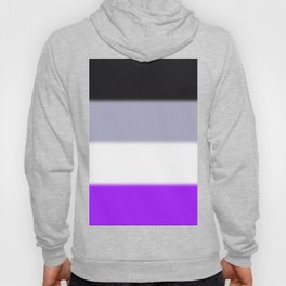 Asexual Pride Flag v2 Hoody