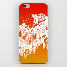 Melty Ice Cream Truck - sherbet iPhone & iPod Skin