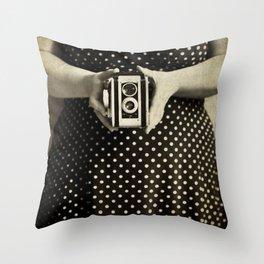 Vintage Duaflex Throw Pillow