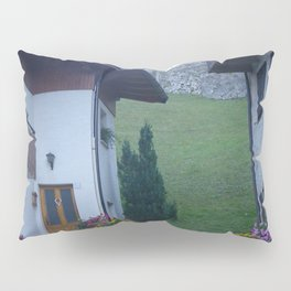 A lovely alley in a mountain village Pillow Sham