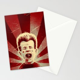 Red Noise Stationery Cards