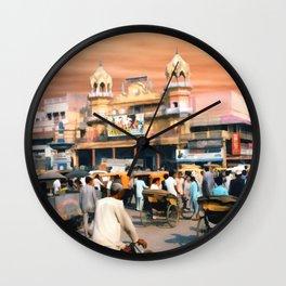 Old Dehli Wall Clock