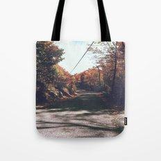 Kenisis lake fall road Tote Bag